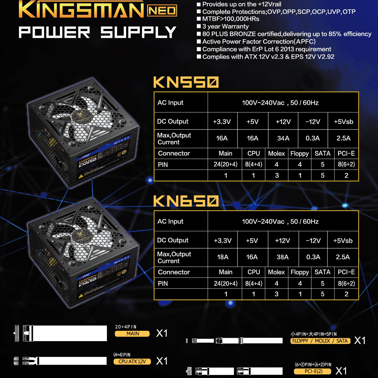 POWER SUPPLY EDM_KINGSMAN NEO